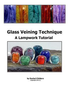Glass Veining Technique Lampwork Tutorial by ROCsDesigns on Etsy