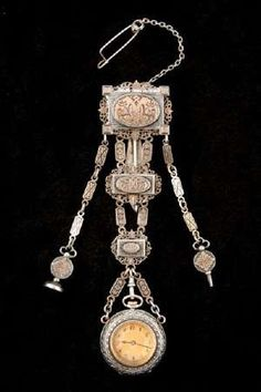 French Watch Chatelaine early 19th century.