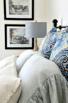 Savvy Southern Style: Grab Them and Run  - Pottery Barn pillow sham bargain.
