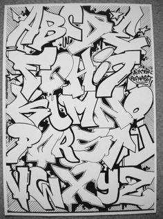 Photo Graffiti Text, Graffiti Lettering Alphabet, Graffiti Alphabet Styles, Graffiti Tagging, Graffiti Artwork, Graffiti Drawing, Graffiti Styles, Street Art Graffiti, Graffiti Artists