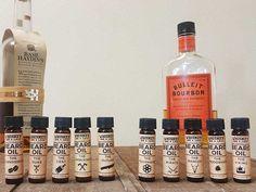 Full Beard Oil Scent Sampler Kit  Best Beard by WhiskeyInkandLace
