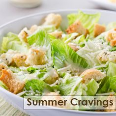 Homemade caesar salad recipe - laura vitale by laurakitchen Salad Recipes Holidays, Quick Salad Recipes, Chopped Salad Recipes, Salad Recipes For Dinner, Fun Easy Recipes, Beer Recipes, Cooking Recipes, Healthy Recipes, Cesar Salat