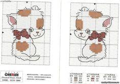 Вышивка кот - Бесплатные схемы вышивки крестиком | ✦✦✦ Вышивка | Постила