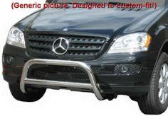 "Custom Fit 99-05 Mercedes ML 320/350/430/450/500 Stainless Steel 2.5"" Bumper Brush Nudge Bull Bar (Mounting Hardware included) MaxMate,http://www.amazon.com/dp/B00CU5FLWK/ref=cm_sw_r_pi_dp_ymv4sb1T701K51JV"