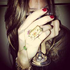 Gold ring bracelet  #shopdesignspark