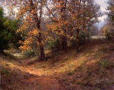Fall Solitude by Mark Haworth Oil ~ 24 x 30