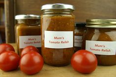Mum's tomato relish – Recipes – Bite