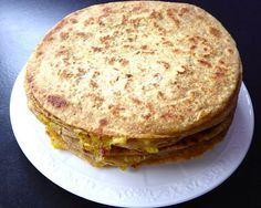 Aloo Paratha (Kartoffel Brot)