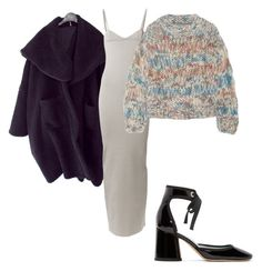 """""""Back to Blue Based outfits"""" by astrro on Polyvore featuring Nina Ricci, Marc Jacobs and Chloé"""