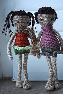 2000 Free Amigurumi Patterns: Human Doll