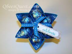 Qbee's Quest: Hershey's Kisses Star Tutorial (6-point)
