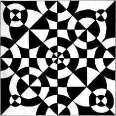Op Art, Notan Art, Glue Art, Graph Paper Art, Composition Art, Concrete Art, Math Art, Illusion Art, Elements Of Art