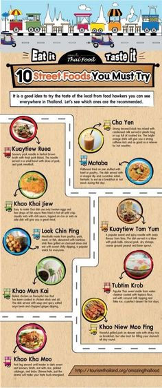 10 street foods in Thailand you must try - Guides for more #ExpatTips and inspiration