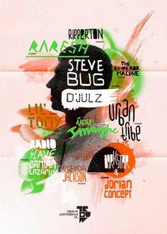 TrouwAmsterdam Line-up posters 2010 | 178 aardige ontwerpers