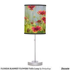 FLORIDA BLANKET FLOWERS Table Lamp