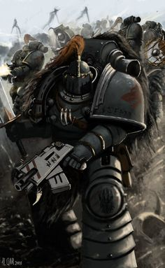 space wolves - Google Search