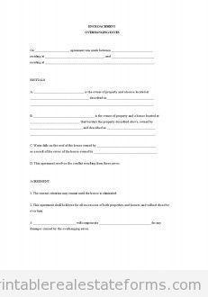 Sample Printable Trustagreement  Form  Sample Real Estate Forms