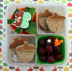 Bento-logy: I'm nuts about you!