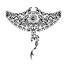 swirls seahorse tattoo - Google Search
