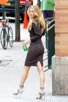 Blake Lively her color and cut. That's what I want