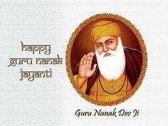 Guru Nanak Dev ji de gurpurab di tuhanu te tuhade sare parivar nu lakh lakh di wadhayian. Happy Guru Nanak Jayanti to all.