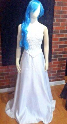Corpse Bride inspired Wedding Dress Costume Halloween Eden Bridal Size 6 OOAK…