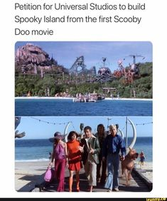 Petition for Universal Studios to build Spooky Island from the first Scooby Doo movie - iFunny :) Scooby Doo Memes, Scooby Doo Movie, New Scooby Doo, Scooby Doo Mystery Incorporated, Good Cartoons, Espanto, Spooky Memes, Joker, Universal Studios