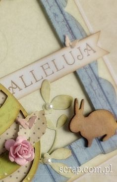 Easter Projects, Place Cards, Scrapbooking, Place Card Holders, Scrapbooks, Memory Books, Scrapbook, Notebooks