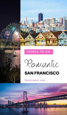 12 Romantic things to do in San Francisco. Theres much more to see beyond the Golden Gate Bridge. babies flight hotel restaurant destinations ideas tips Florida Travel, California Travel, Travel Usa, Travel Europe, Places In San Francisco, San Francisco Travel, Romantic Vacations, Romantic Travel, Romantic Getaways