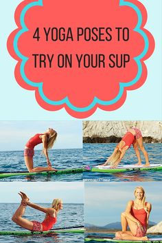 Yoga Poses to Try On Your SUP Take your practice off shore with Amelia Travis' 4 yoga poses to try on your SUP.Take your practice off shore with Amelia Travis' 4 yoga poses to try on your SUP. Stand Up Paddle Board, Paddle Board Yoga, Yoga Poses For Men, Yoga For Men, Qi Gong, Kundalini Yoga, Pilates Reformer, Yoga Inspiration, Yoga Quotes