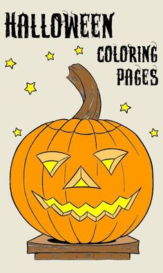 The BEST Halloween coloring pages, sheets and pictures. Free, printable and hundreds to choose!