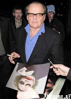 Autogramm vom Joker holen