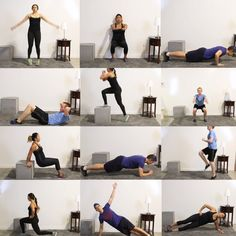 20 Minute Full Body Yoga Workout for Beginners (+ Free PDF) - yoga fitness Fitness Workouts, Fitness Del Yoga, Sport Fitness, At Home Workouts, Fitness Tips, Fitness Motivation, Health Fitness, Full Body Workouts, Fitness Journal