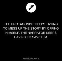 Or even unintentionally almost dying because they are unaware or are intentionally ignoring the narrator Daily Writing Prompts, Writing Promps, Creative Writing Prompts, Writing Boards, Cool Writing, Story Prompts, Writing Help, Writing Ideas, Writing Inspiration