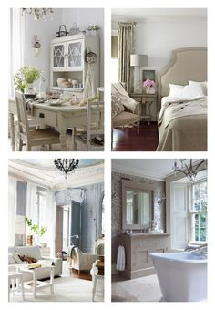 Modern french country on pinterest modern french for D furniture galleries rockville md