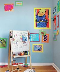Trick 1: Turn to Colorful Tape     | Where kids live, clutter reigns. Here, 12 tricks to sort, store, and—the real trick—beautify their royal messes.