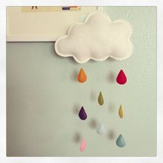 rainbow cloud playroom - Google Search