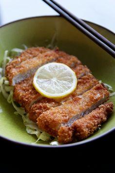 Porc Tonkatsu   La cuisine de Josie