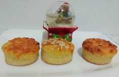 Gluténmentes rizslisztes burgonyás pogácsa Cake Recipes, Muffin, Pudding, Breakfast, Desserts, Food, Morning Coffee, Muffins, Meal