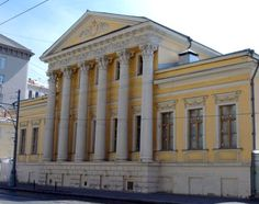 Пречистенка 35 - Усадьба Самсонова | Достопримечательности Москвы