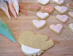 Jenny Steffens Hobick: Valentine's Day Sugar Cookies | Heart Sugar Cookies | Recipe