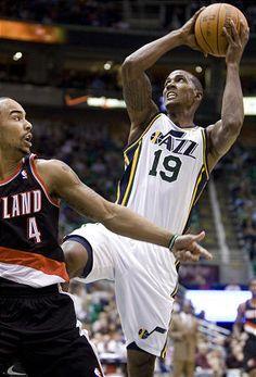 Utah Jazz guard Raja Bell