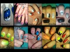 12 Nail Designs Compilation Video(Nailed It)