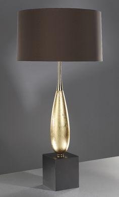 Solomon Gold Leaf Table Lamp