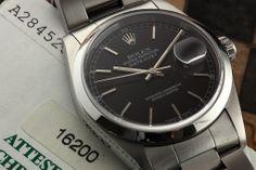 Rolex, Rolex Datejust 16200 box & papers, Vintage Watches