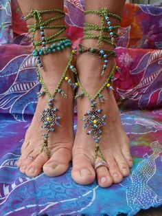 Currently loving barefoot sandals