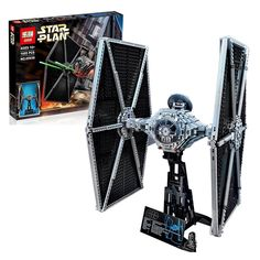 83.00$  Buy now - http://alij24.worldwells.pw/go.php?t=32783034933 - NEW 1685pcs Lepin 05036 Star War Series Tie Fighter Building Educational Blocks Bricks Toys Compatible with 75095