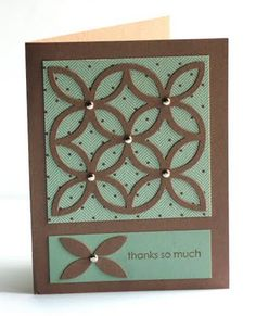 #stampin up lattice