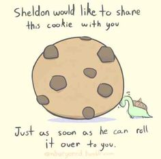 Sheldon the Tiny Dinosaur that thinks he's a turtle. I love Sheldon the Tiny Dinosaur :D Sheldon The Tiny Dinosaur, Cute Comics, Funny Comics, Turtle Dinosaur, Dinosaur Pics, Dinosaur Sketch, Dinosaur Funny, The Awkward Yeti, Sarah Andersen