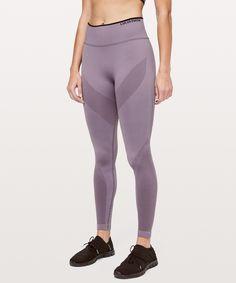 lululemon Women's Iconic Sweat Legging, Graphite Purple/Black, Size 12